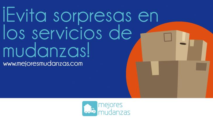 Evita sorpresas en los servicios de servicios de mudanzas
