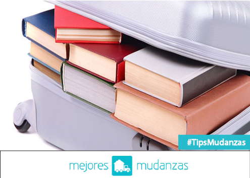 como empacar libros para mudanza