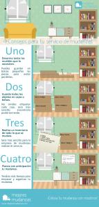 Servicio de mudanzas infografía