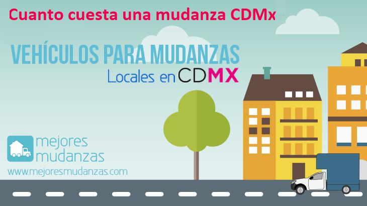 Cuanto cuesta una mudanza CDMX